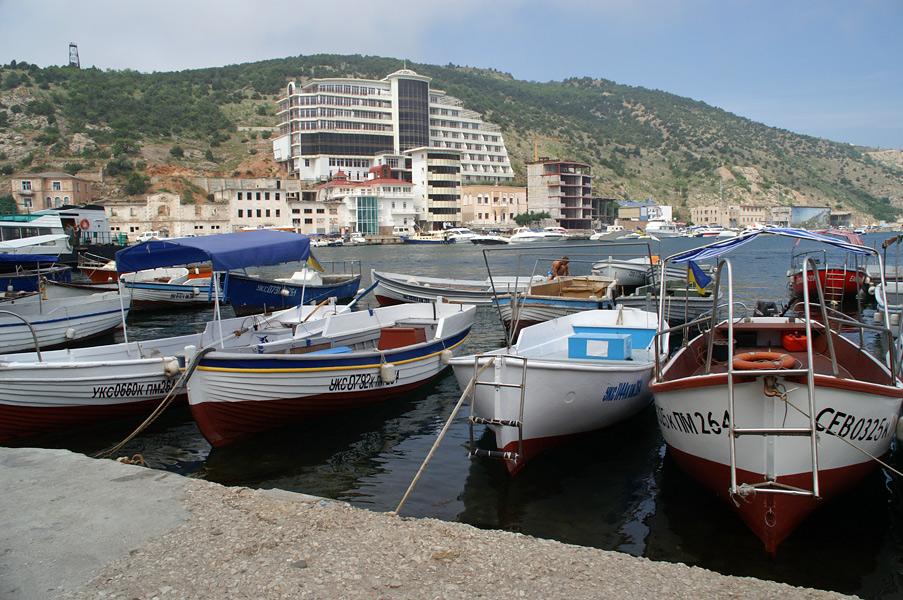 Порт в Балаклаві