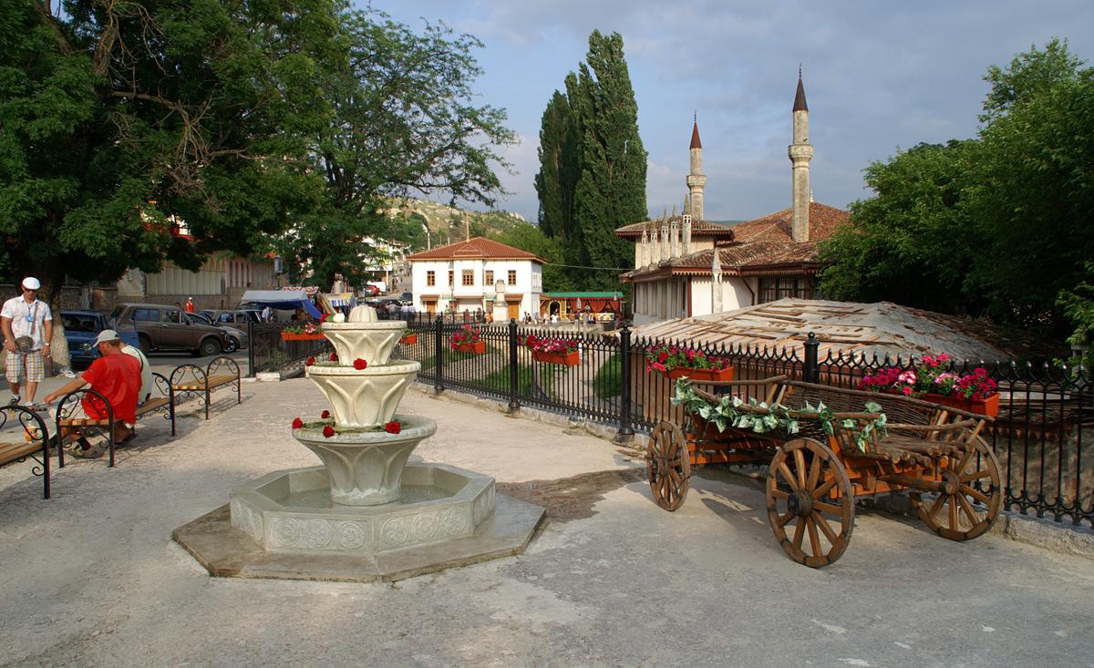 Центр Бахчисараю (Старе місто)