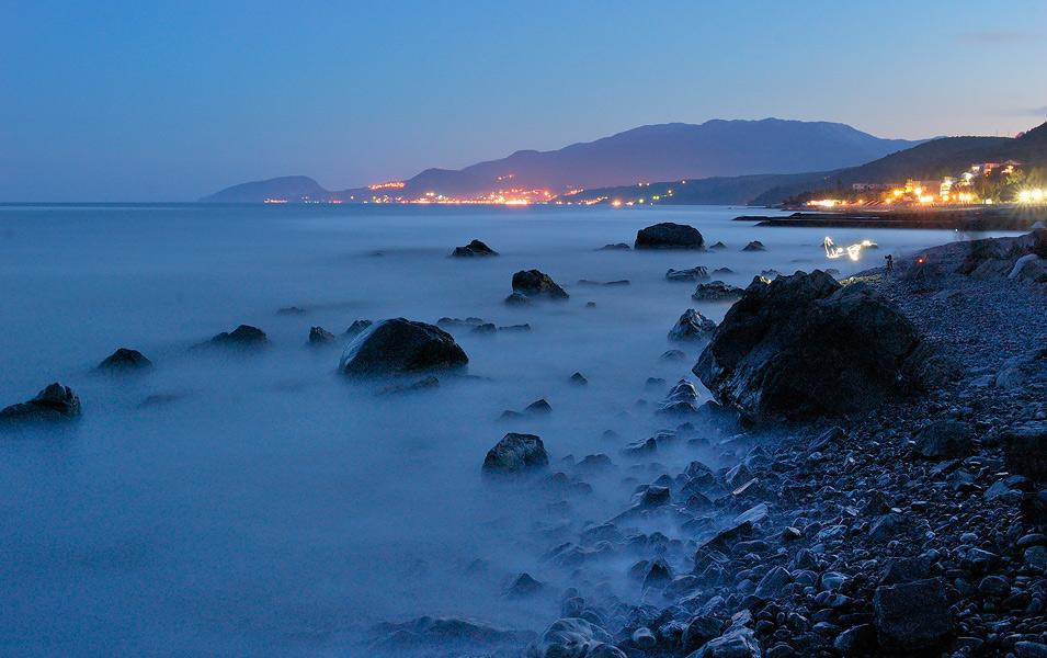 Вечір на Чорному морі