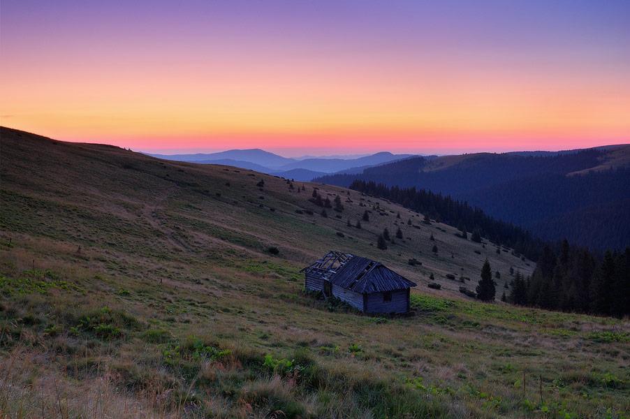 Стая на схилі гори Радуль