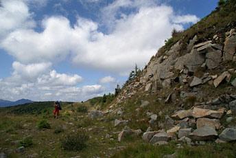 Кам'яні осипища на Скелях Смерті