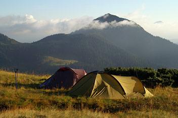 Ранок в Мармароських горах