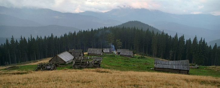 Полонина Середня - 1350 м над р.м.