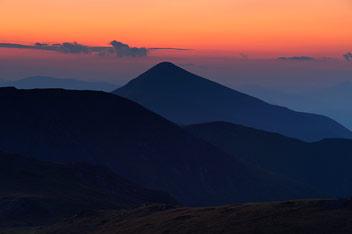 Захід сонця над Говерлою