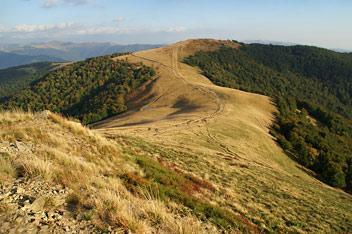Вид з гори Климова