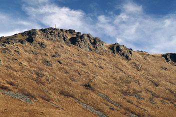 Гора Пікуй - 1408 м над р.м.