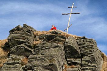 На вершині гори Пікуй