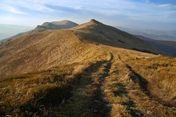 Гора Острий Верх - 1294 м над р.м.