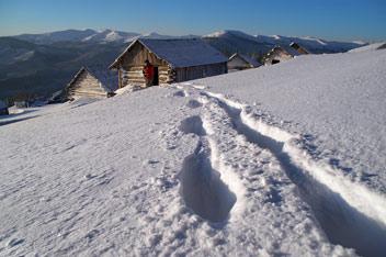 Зима на полонині Погарський