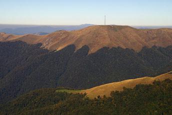 Гора Топас - 1548 м над р.м.