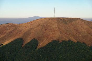 Гора Топас (1548 м над р.м.)