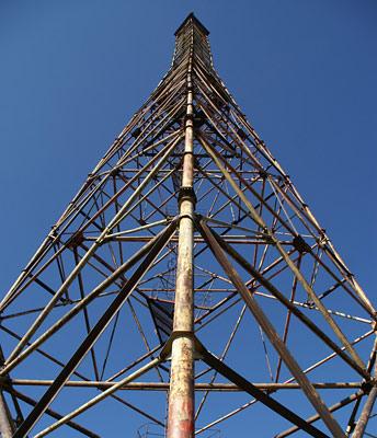 Вежа для спостереження за газогоном на горі Топас
