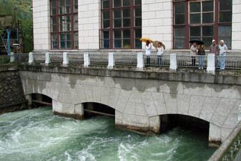 Будівля в якій знаходяться турбіни ГЕС