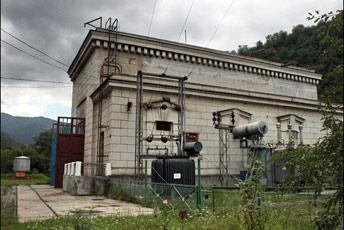 Будівля турбінного відділення ГЕС