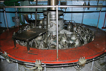 Система поступового гальмування турбіни