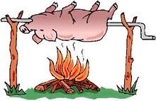 Фестиваль гентешів - різників свиней