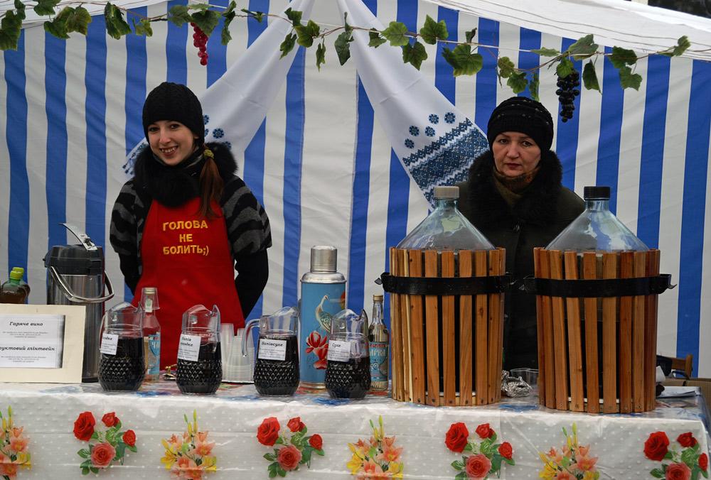 На фестивалі вина в Берегові