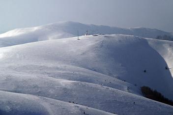 Гора Плай - 1330 м над р.м. (вид з г. Ряпецка)