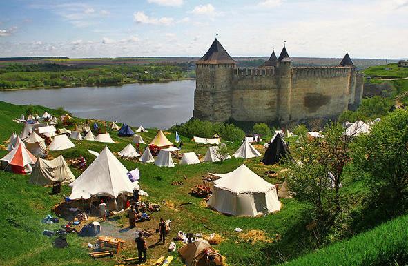 """Фестиваль """"Середньовічний Хотин - 2012"""""""