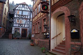 Архітектура містечка Клінгенберг (Баварія)