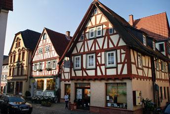 Архітектура романтичного містечка Клінгенберг (Klingenberg)