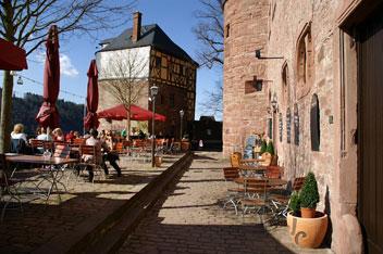 Ресторан в замку Wertheim