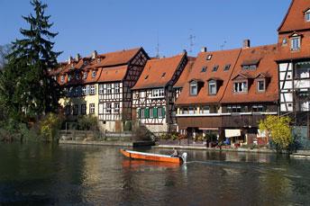 В центрі міста Бамберг (Баварія)