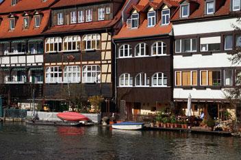 Бамберг - місто на річці Регніц