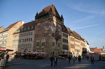 Нюрнберг, в центрі міста