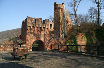 На Замковій горі в містечку Klingenberg