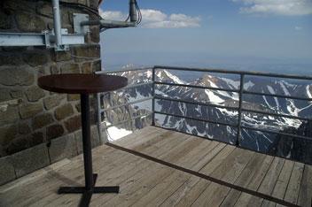 На вершині гори Ломницький Штит - 2634 м над р.м.