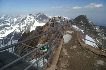 На вершині гори Ломницький Штит