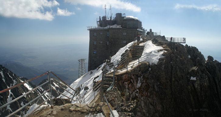 Астрономічна обсерваторія на горі Ломницький Штит - 2634 м над р.м. (Високі Татри, Словаччина)