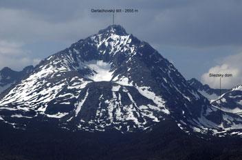 Найвища вершина Карпат - Герлаховський Штит - 2655 м