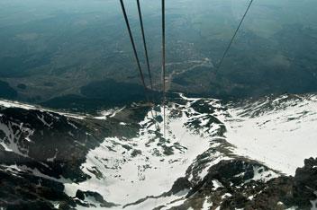 Канатна дорога до вершини Ломницький Штит - 2634 м