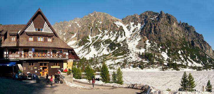 Попрадске Плесо (Popradske pleso) 1494 м над р.м. - високогірне озеро у Високих Татрах